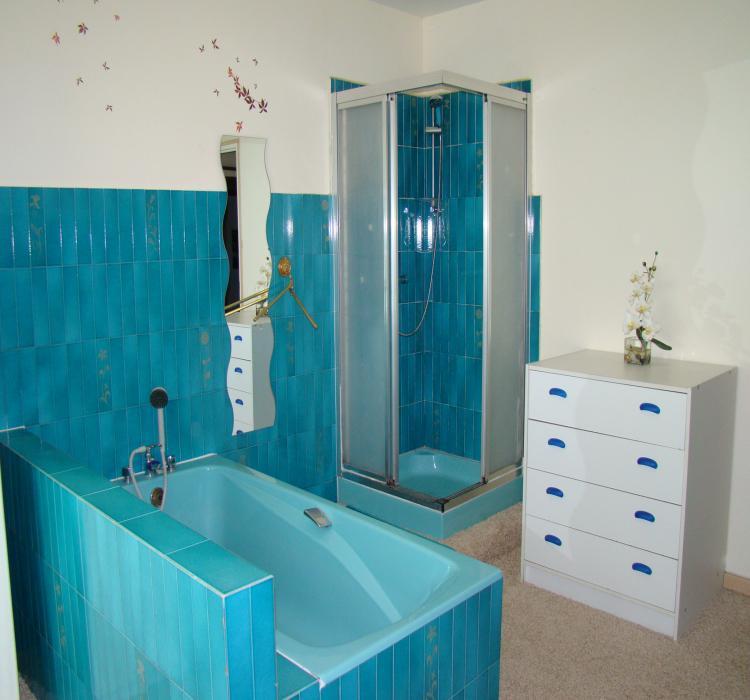 Photos de la chambre d 39 h te - Salle de bain cote maison ...